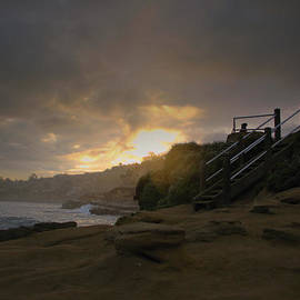 La Jolla Cove Sunrise by Jeremy McKay