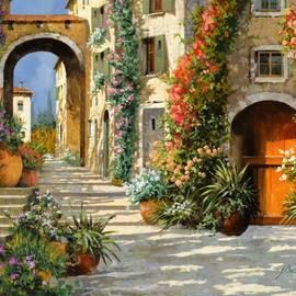 La Porta Rossa Sulla Salita by Guido Borelli