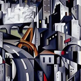 La Rive Gauche by Catherine Abel