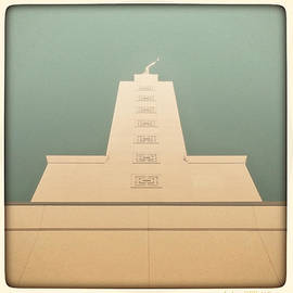 L.a. Temple Green by Kevin Bergen