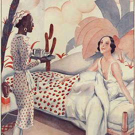 The Advertising Archives - La Vie Parisienne 1920s France Fabien