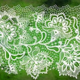 Lace - Emerald by Lilia D