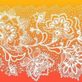 Lilia D - Lace - Orange