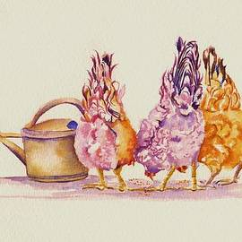 Hens - Ladies Who Lunch by Debra Hall