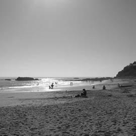 Laguna Sunset Reflection by Connie Fox