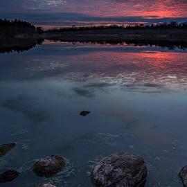 Aaron J Groen - Lake Alvin dusk