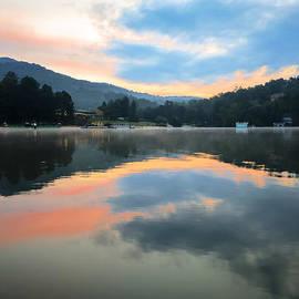 Lake Lure Sunrise by Serge Skiba