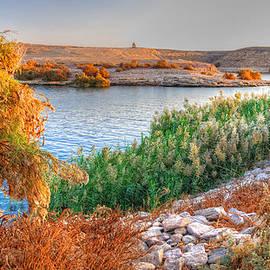 Lake Nasser Sunset by Nigel Fletcher-Jones