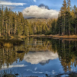 Lake Near Olmstead Point Yosemite by Greg Kluempers