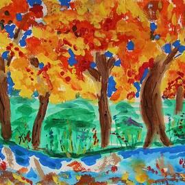 Mary Carol Williams - Lake Shore Trees