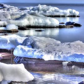 Amanda Stadther - Lake Superior Ice