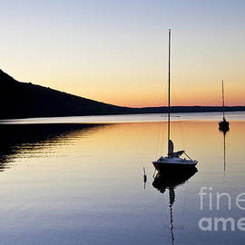 Lake Willoughby Twilight by Alan L Graham