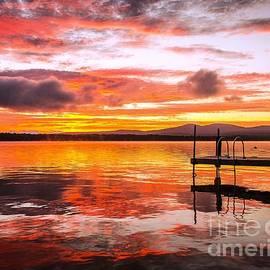 Lake Winnisquam Sunrise by Mike Ste Marie