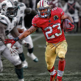 Lamichael James- 49ers by Herb Paynter
