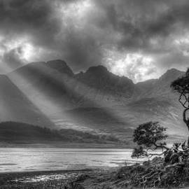 Landscape of the Scottish Highlands in Scotland by Michalakis Ppalis