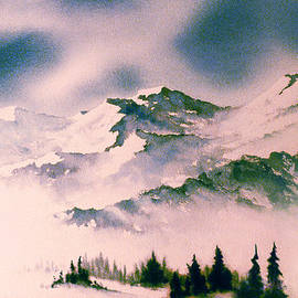 Landscape with Mountains by Teresa Ascone