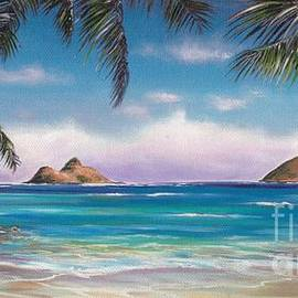Linda Briggs - LANIKAI BEACH and HONU