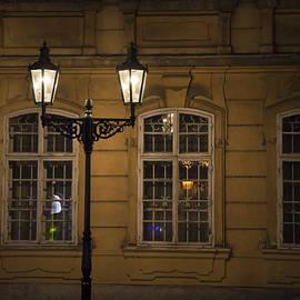 Maria Heyens - Lantern in Prague