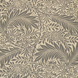 Larkspur Wallpaper Design by William Morris