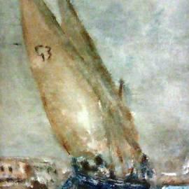 Marco Macelli - Latini boat entering Grand Harbour Valletta