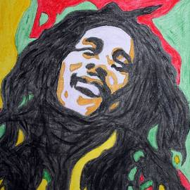 Happy Bob Marley  by Stormm Bradshaw