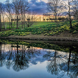 Laurel Ridge Reflections by T-S Photo Art