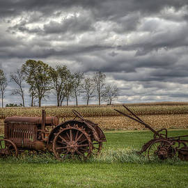 Lawn Tractor by Ray Congrove
