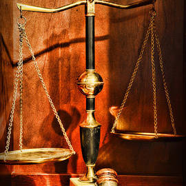 Lawyer - Scales of Justice by Paul Ward