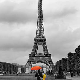 Le Parapluie Orange by Nikolyn McDonald