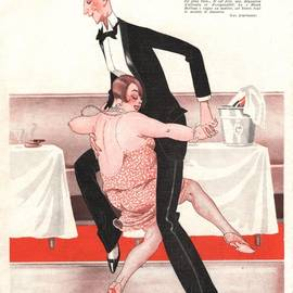 The Advertising Archives - Le Sourire 1926 1920s France  Black