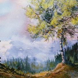 Leafy Tree by Teresa Ascone