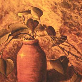Leaves in a Jar by Teresa Ascone