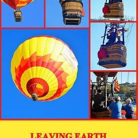 Leaving Earth by AJ  Schibig