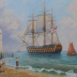 Elaine Jones - Leaving Portsmouth Harbour