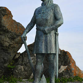 Leif Ericsson Returns to L'Anse aux Meadows by Wendy Nuttall