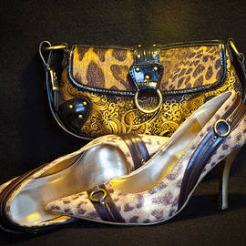 Patti Deters - Leopard Purse and Pumps