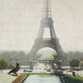 Letters From Trocadero - Paris by Lisa Parrish