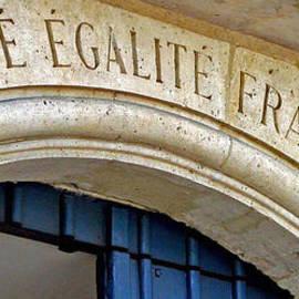 Liberte Egalite Fraternite by Jean Hall