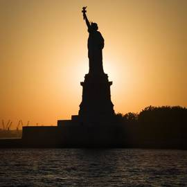 Liberty Sunset by Dave Bowman