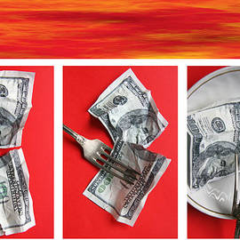 Life dollar by Lali Kacharava