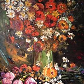 Life is like a vase of flowers by Belinda Low