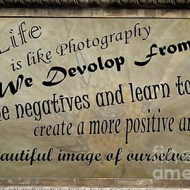 Diana Sainz - Life is Like Photography