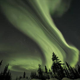 Priska Wettstein - Light Swirls Over The Midnight Dome