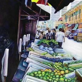 Lighter side of Lavender Street Singapore by Gaye Elise Beda