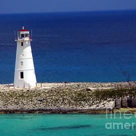 Amy Cicconi - Lighthouse along coast of Paradise Island Bahamas