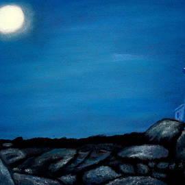 Jay Johnston - Lighthouse and Moon