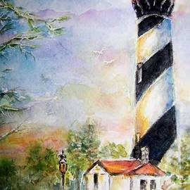 Lighthouse - Painting - St. Augustine, FL by Carolyn Gray