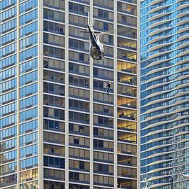 Christine Till - Lights - camera - action - Movie backdrop Chicago
