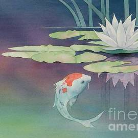 Lily And Koi by Robert Hooper