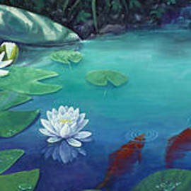 Lily Pond by Rob Corsetti